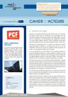 Cigéo - Cahier d'acteurs du PCF
